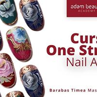 Curs One Stroke Nail Art  Barabas Timea  Oradea