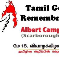 Tamil Genocide Remembrance Day
