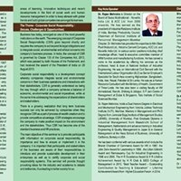 CSR - Issues Challenges and Opportunities - National Seminar