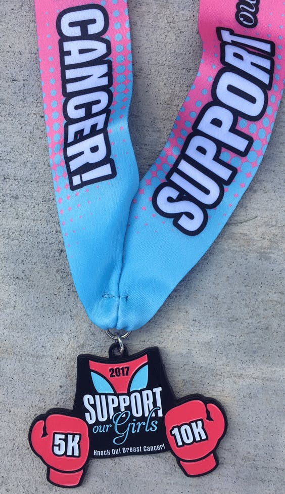 Only 9.00 Support Our Girls 5K &amp 10K- Knock Out Breast Cancer- Huntington Beach