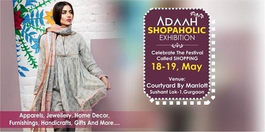 Adaah Shopaholic Exhibition 18-19 May Hotel Courtyard Marriott
