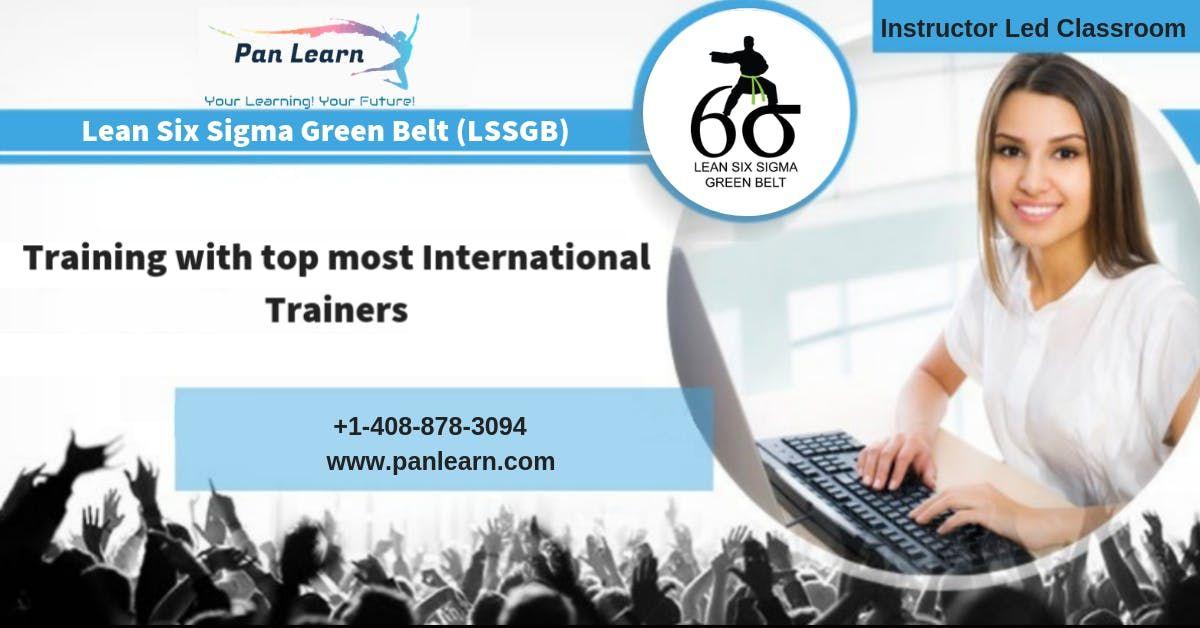 Lean Six Sigma Green Belt (LSSGB) Classroom Training In Columbia SC