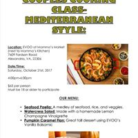 Fun Couples Cooking Class - Mediterranean Style