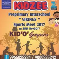 Preprimary Kidzee Interschool &quotVikings&quot KidOlympics Sports Meet 2017