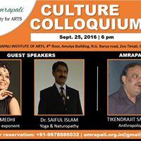 Culture Colloquium Autumn 2016