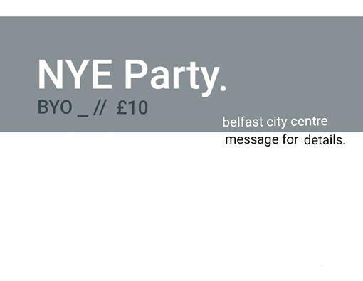 NYE Party. BYO. City Centre Location.