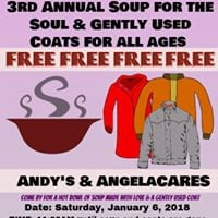 3rd Annual Soup for the Soul and Gently Used Coats Giveaway
