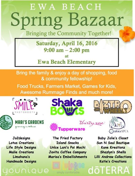 Ewa Beach Spring Bazaar and Craft Fair