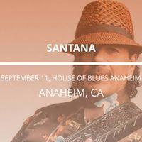 Santana in Anaheim