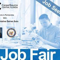 Career Source Central Florida - Job Fair