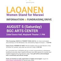 Laonen Women Stand for Marawi