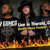Anthony Gomes - Live in Thorold Canada