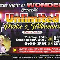 BAPTIST NIGHT OF WONDERS