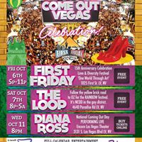 Ricky Rebel &amp Diana Ross Live at Come Out Vegas