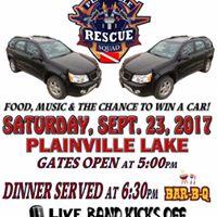 Plainville Rescue Squad car raffle