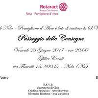 Passaggio delle Consegne Rotaract Club Nola - Pomigliano dArco
