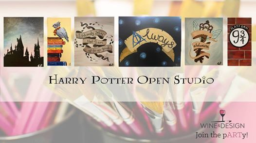 Harry Potter Open Studio Open To All Ages At Wine Design