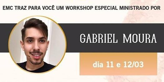 Workshop com Masterclass Gabriel Moura