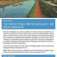 Mini-curso Tcnicas para revitalizao de rios urbanos