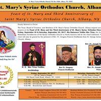 St. Marys Syriac Orthodox Church Albany - 2017 Perunnal