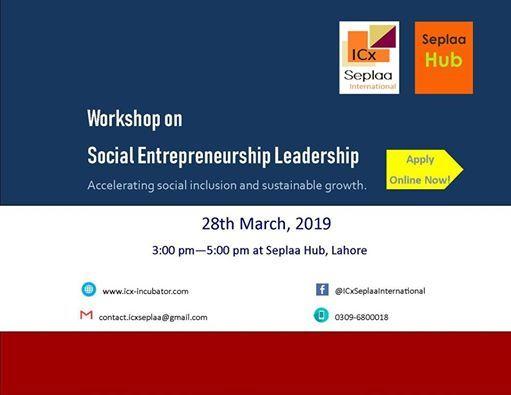 Workshop on Social Entrepreneurship Leadership- Part 1