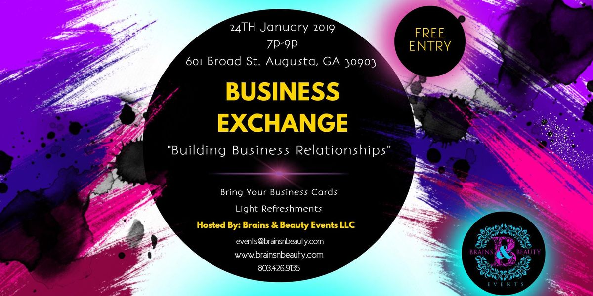 The Business Exchange- Networking Event
