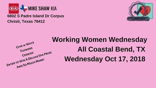 Working Women Wednesday At Mike Shaw Kia
