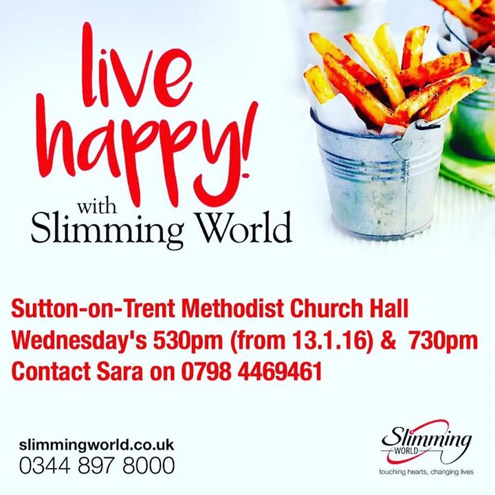Live Happy In 2016 With Slimming World At Slimming World
