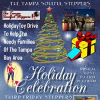 Third Friday Steppers Holiday Party  Toy Drive