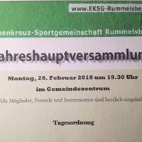 Jahreshauptversammlung der EKSG Rummelsberg