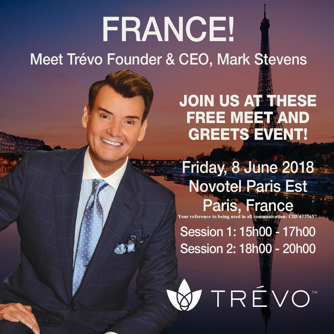 Trvo Founder And Ceo Meet And Greet And Training At Hotel Novotel