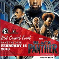 Red Carpet Event Black Panther
