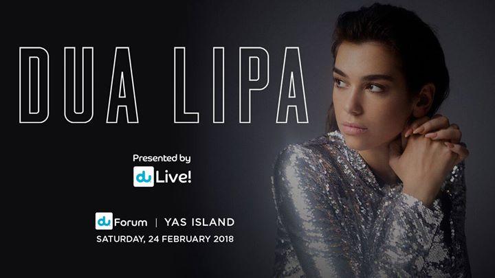 DUA LIPA Live in Abu Dhabi