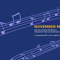 November Music Fest 2017-Ploiesti