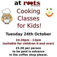 Cooking Classes for kids.