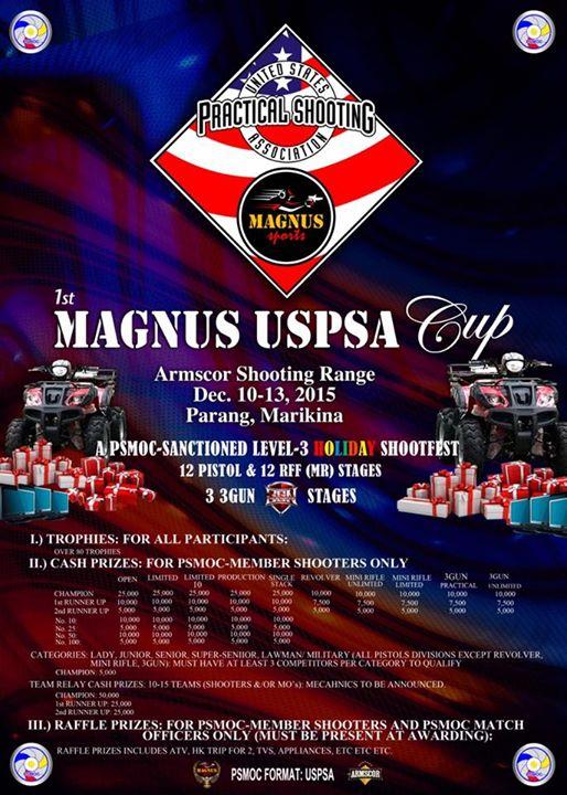 1st Magnus USPSA Cup