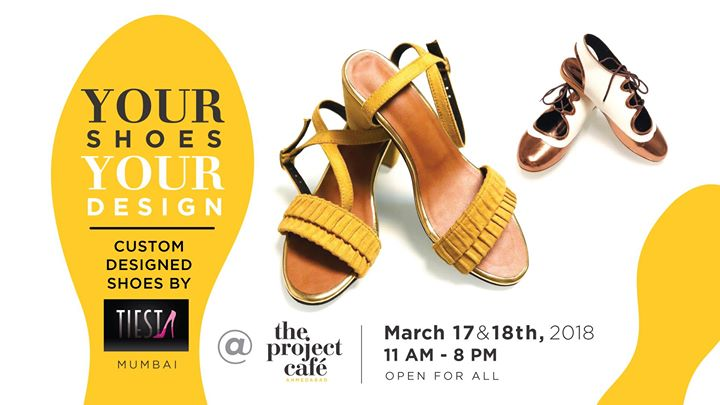 Your Shoes. Your Design with Tiesta Shoes Mumbai