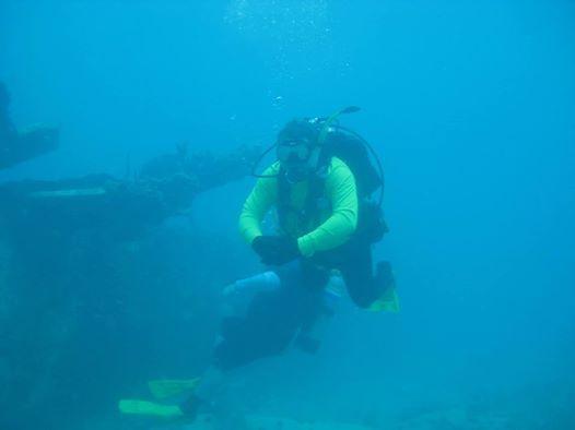 Florida Panhandle/USS Oriskany at SCUBA Dive-Inland Water