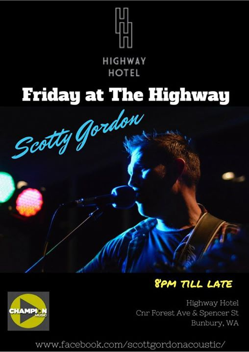 Scotty Gordon live at the Highway Hotel Bunbury | Bunbury