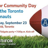 Unifor Community Day with the Argos