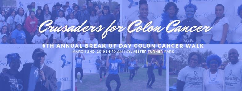 6th Annual 5K Break of Day Colorectal Walk to Defeat Colon Cancer