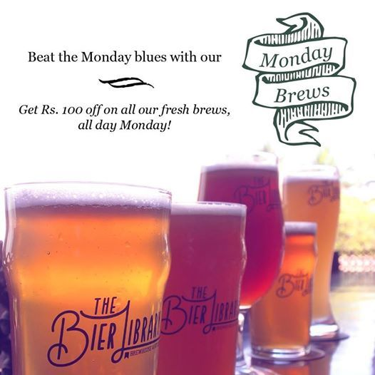 Beat the Monday blues with our Monday brews