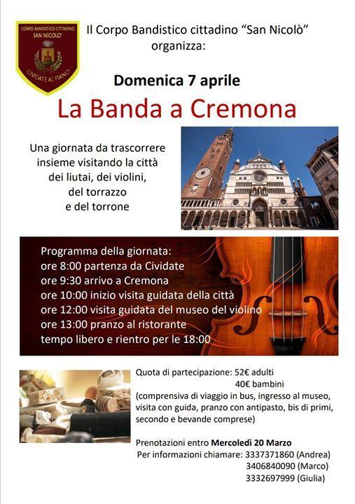 La banda a Cremona