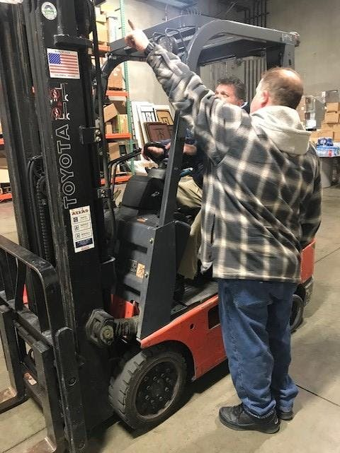 June 14th Forklift Certification Class Later Session At Power