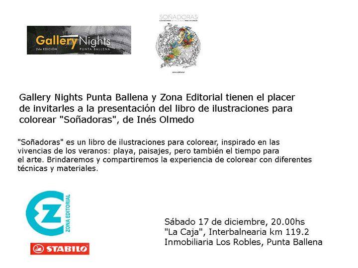 Presentación del Libro para colorear Soñadoras , Ines Olmedo at La ...