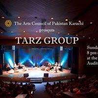 TARZ GROUP Live at The Arts Council of Pakistan Karachi