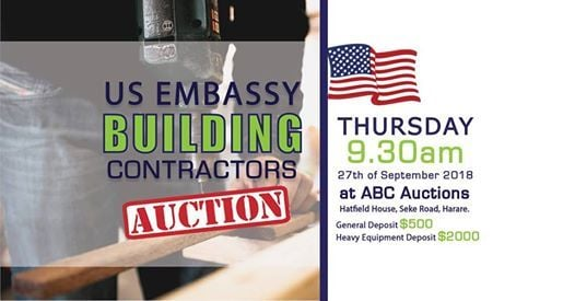 US Embassy Building Contractors Auction