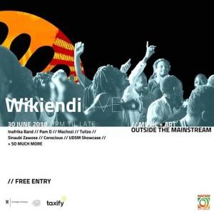 Wikiendi LIVE  Music  Art Outside the Mainstream