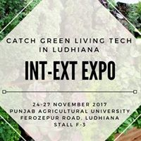 Green Living Tech at Int-Ext Expo Ludhiana Stall F-3