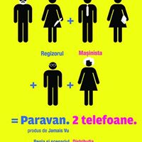 Paravan. 2 telefoane. de Matei Lucaci-Grunberg